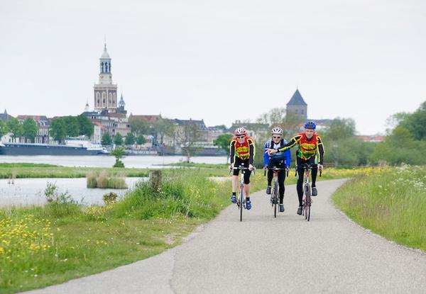 Wandelen, fietsen, varen
